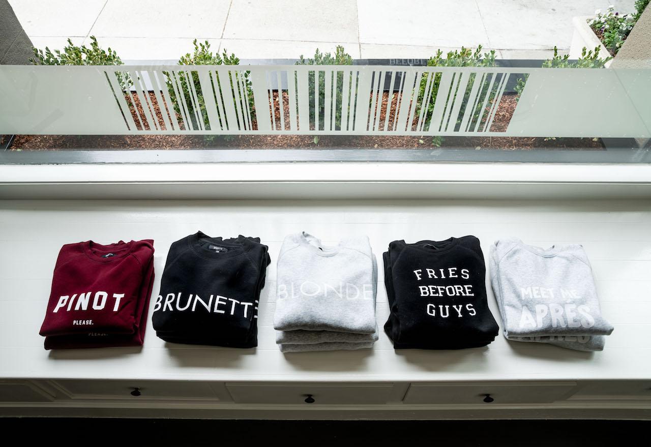 Statement sweatshirts