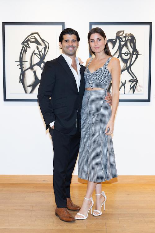 Alexander Mijares and Greta Jimenez