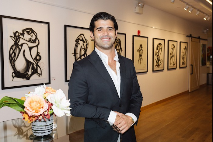 Step Inside Celebrity Artist Alexander Mijares' First New York City Exhibit