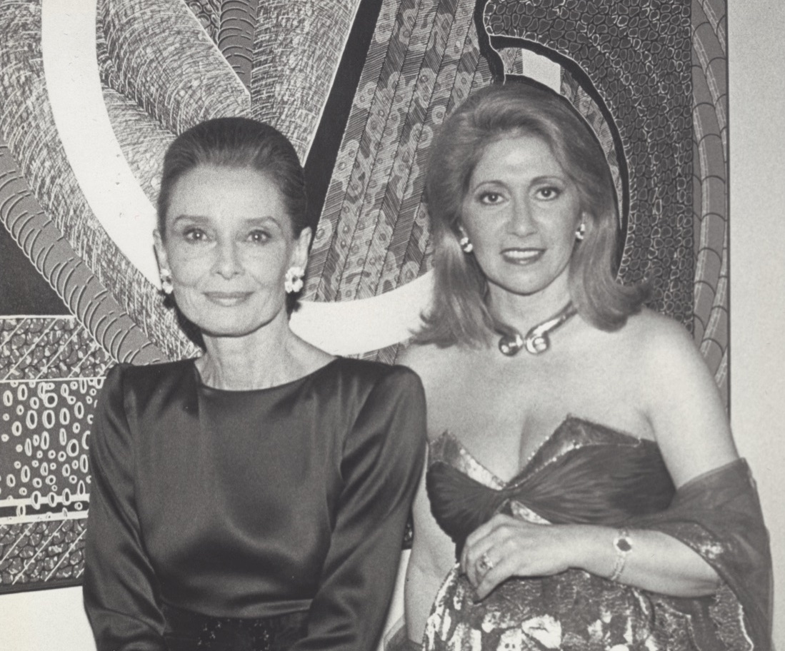 Audrey Hepburn and Blackburn