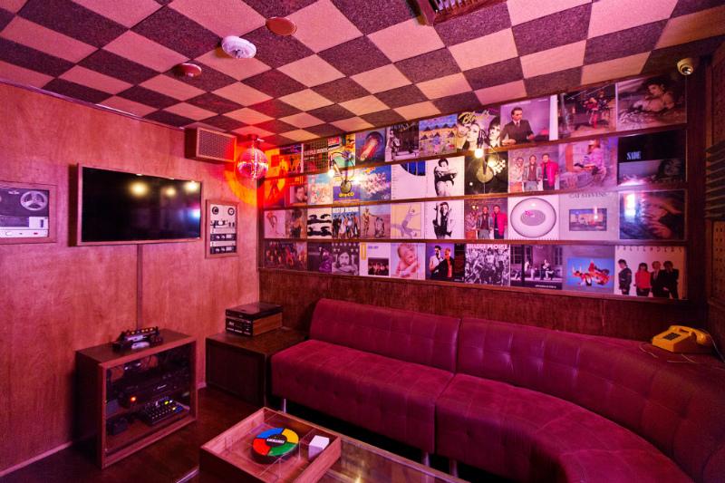 The '80s-themed karaoke venue from Houston Hospitality, BreakRoom86 in Los Angeles.
