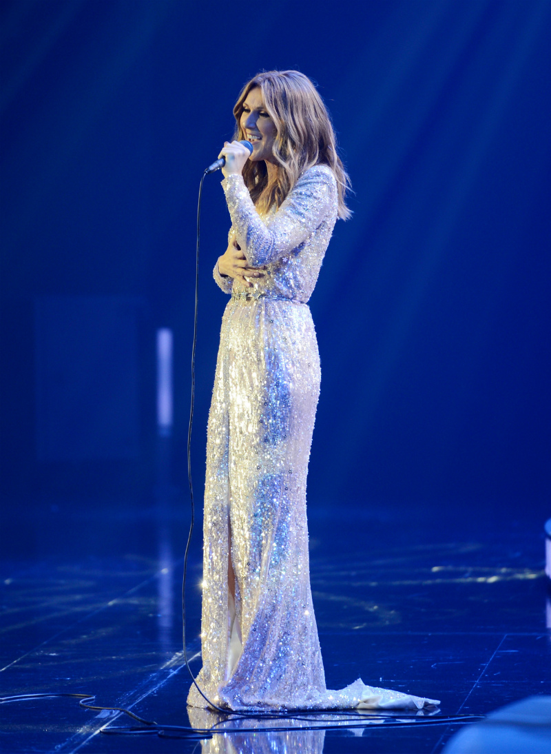 Celine Dion at The Colosseum at Caesars Palace - Photo Credit Denise Truscello