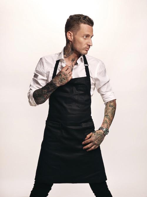 Chef Michael Voltaggio portrait