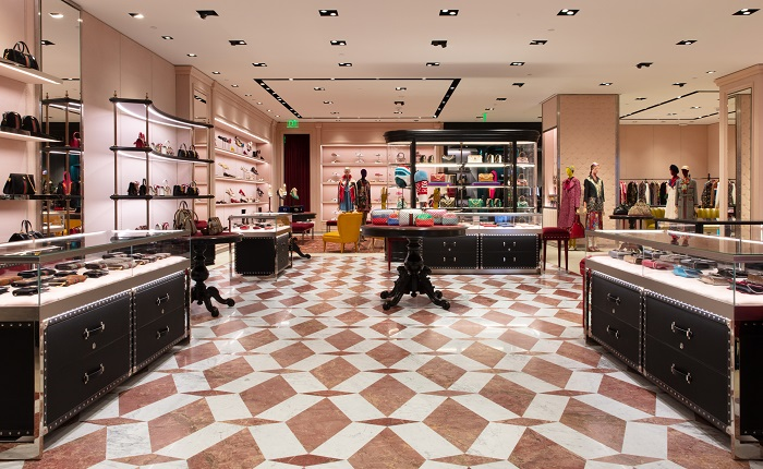 Gucci Opens Swanky New Spot At Copley Place