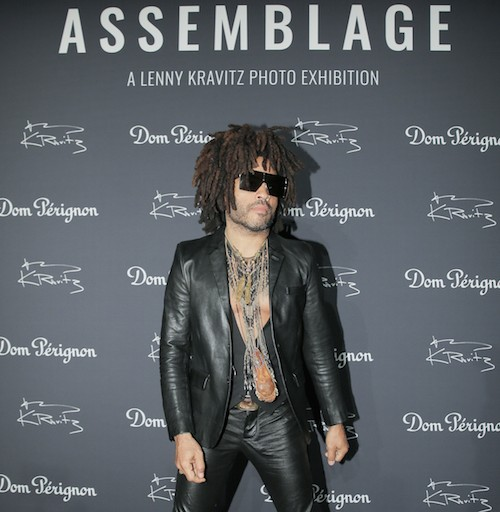 "Dom Pérignon Presents ""Assemblage"" A Photo Exhibition By Lenny Kravitz In New York City"