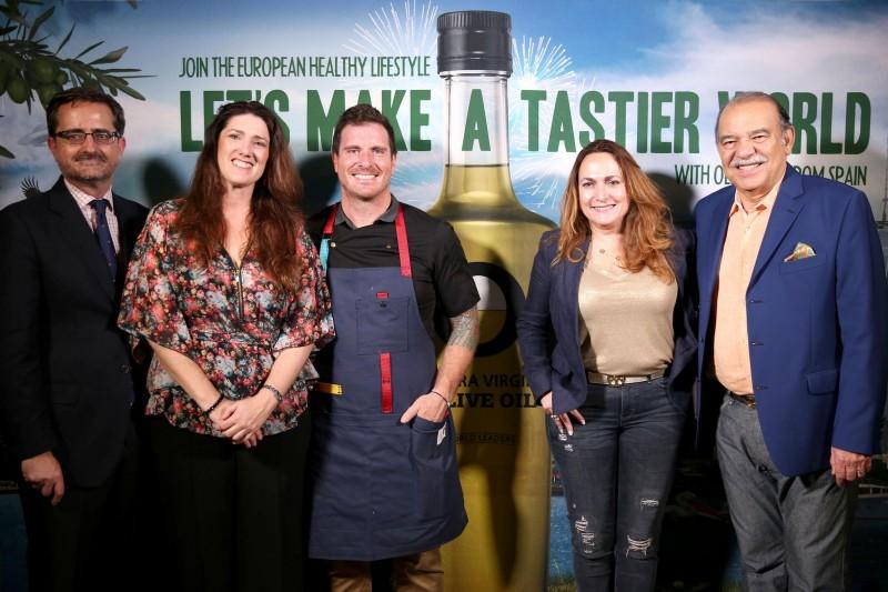 Mr. Candido Creis Estrada, Teresa Perez, Chef Seams Mullen, Enrique Cordoba, & Maripaz Pereira Cordoba2