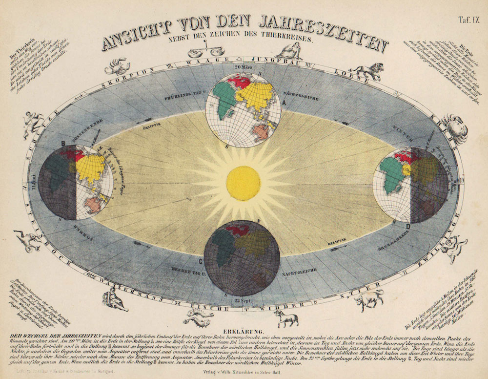 Expect to find pieces like this celestial-inspired antique print from Philadelphia Print Shop West at the show