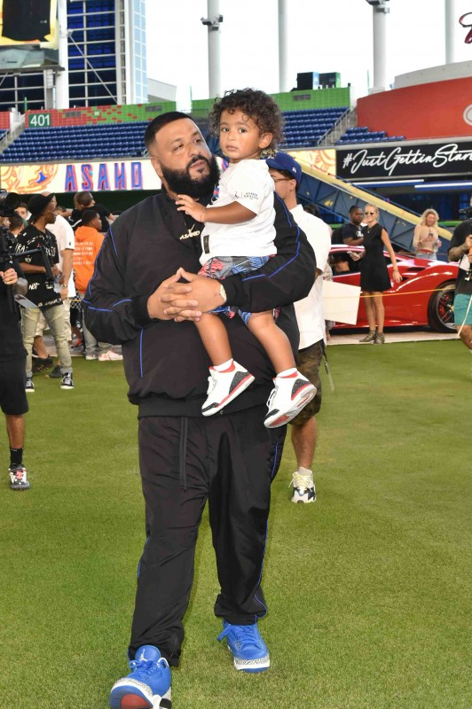 DJ Khaled and Asahd Khaled