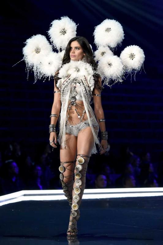 Sara Sampaio walks the runway during the 2017 Victoria's Secret Fashion Show In Shanghai