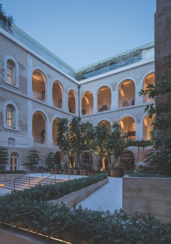 The Jaffa Courtyard