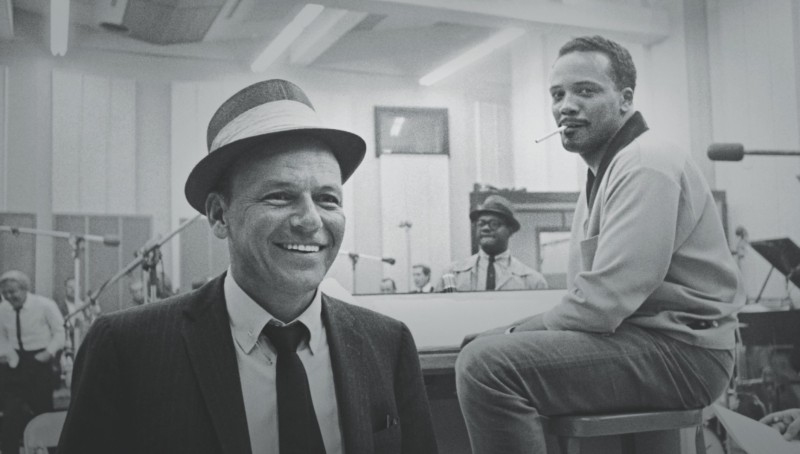 Quincy Jones and Frank Sinatra