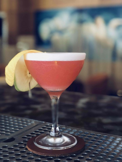 The Pink Lady at MO Bar + Lounge