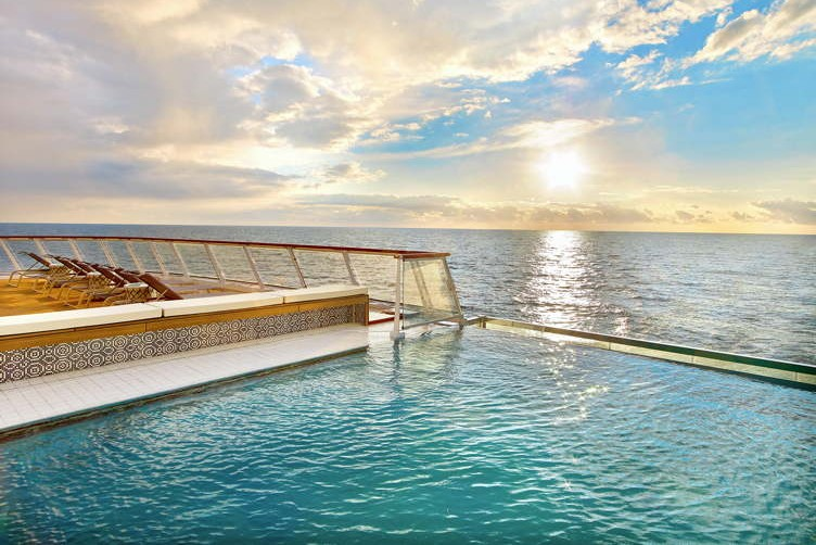 The Infinity Pool on-board the Viking Star