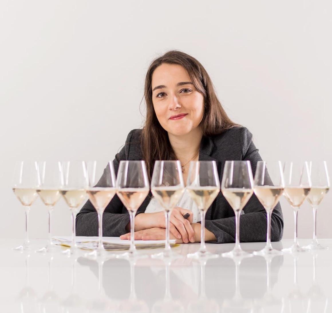 Pauline Lhote blends sparkling wine