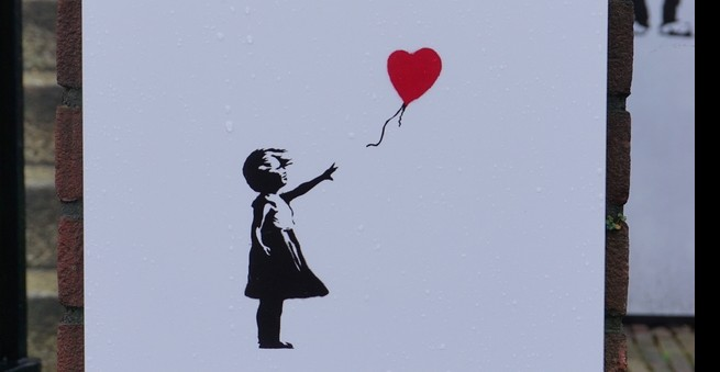 Sale Of Banksy's Girl With Balloon Is Confirmed With A Surprising Twist