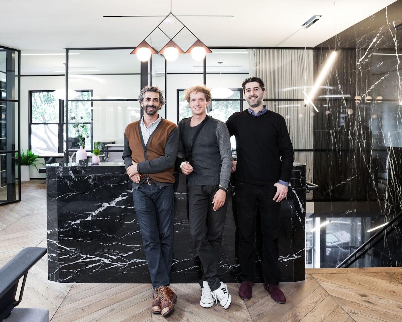 Amir Mortazavi, Yves Behar, Steve Mohebi