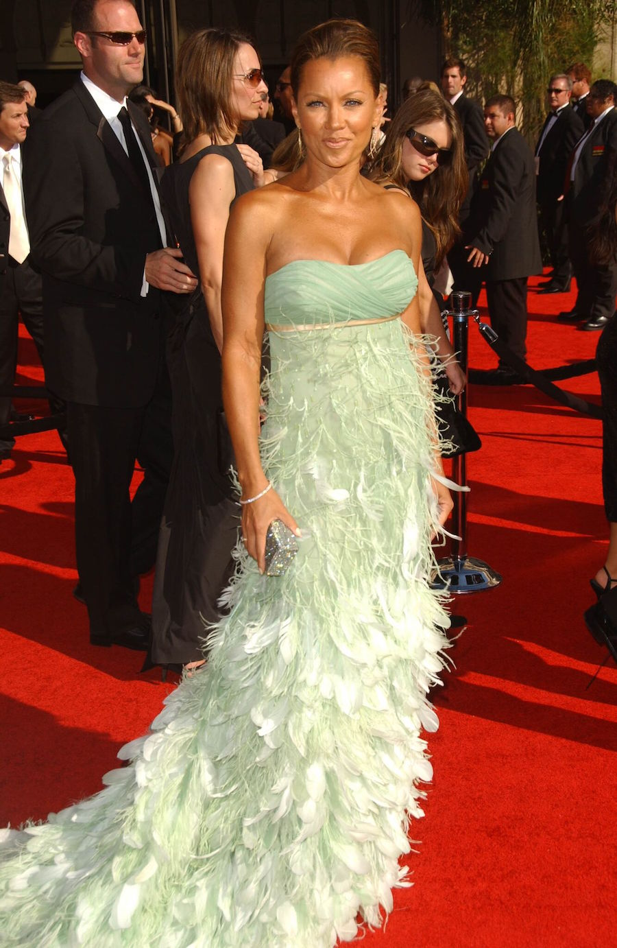 Vanessa Williams in a Kevan Hall gown at the 2007 Emmy Awards
