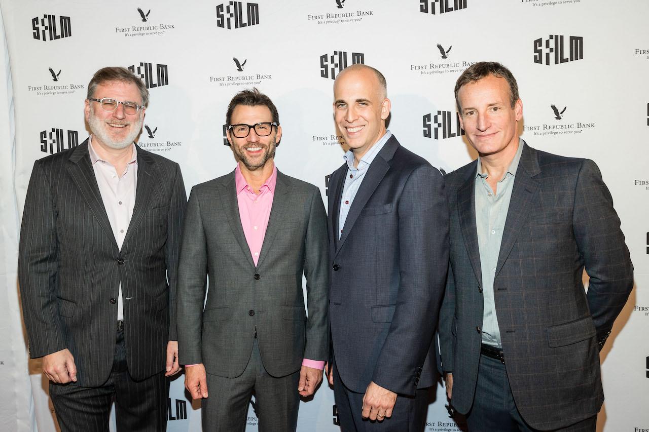 Noah Cowan, Jonathan King, Daniel Stiepleman and Todd Traina