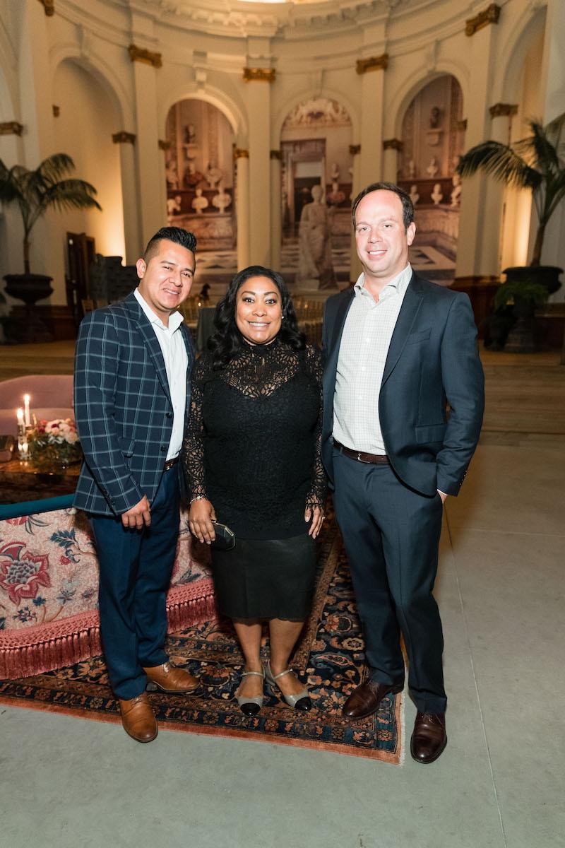 Juan Fernandez, Gwyneth Borden and Alex Fisher