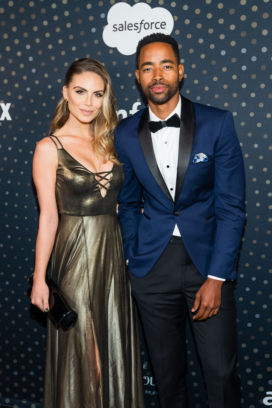 Nina Senicar and Jay Ellis