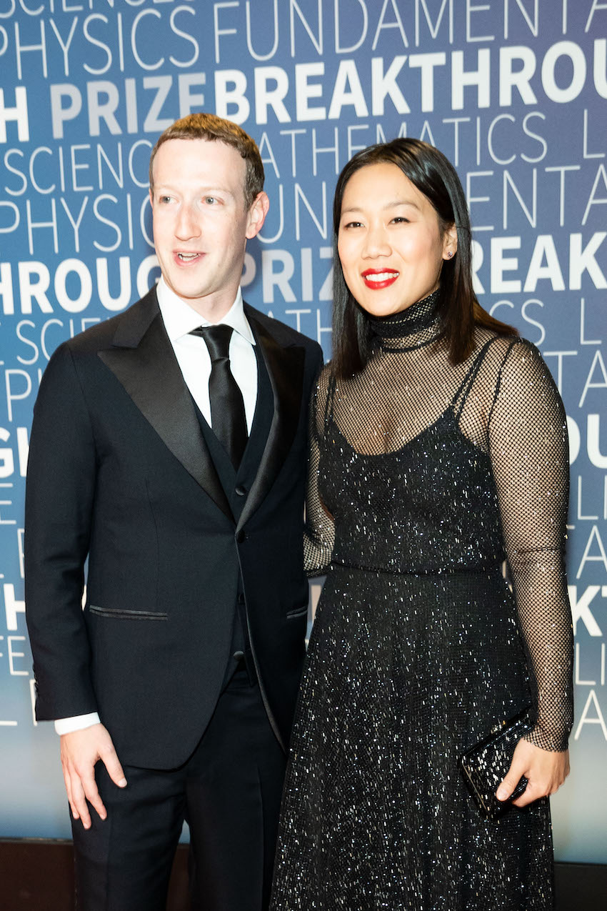 Mark Zuckerberg and Priscilla Chan attend 7th Annual Brea