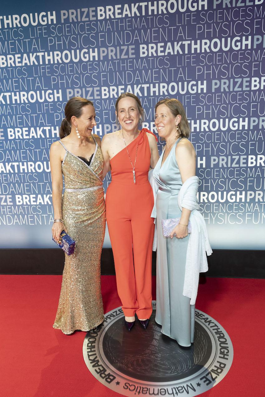 Anne Wojcicki, Janet Wojcicki and Susan Wojcicki
