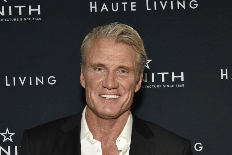 NEW YORK, NY - NOVEMBER 12:  Dolph Lundgren attends the Haute Living And Zenith Honor Dolph Lundgren at Mr Chow in Tribeca on November 12, 2018 in New York City.  (Photo by Eugene Gologursky/Getty Images for Haute Living )