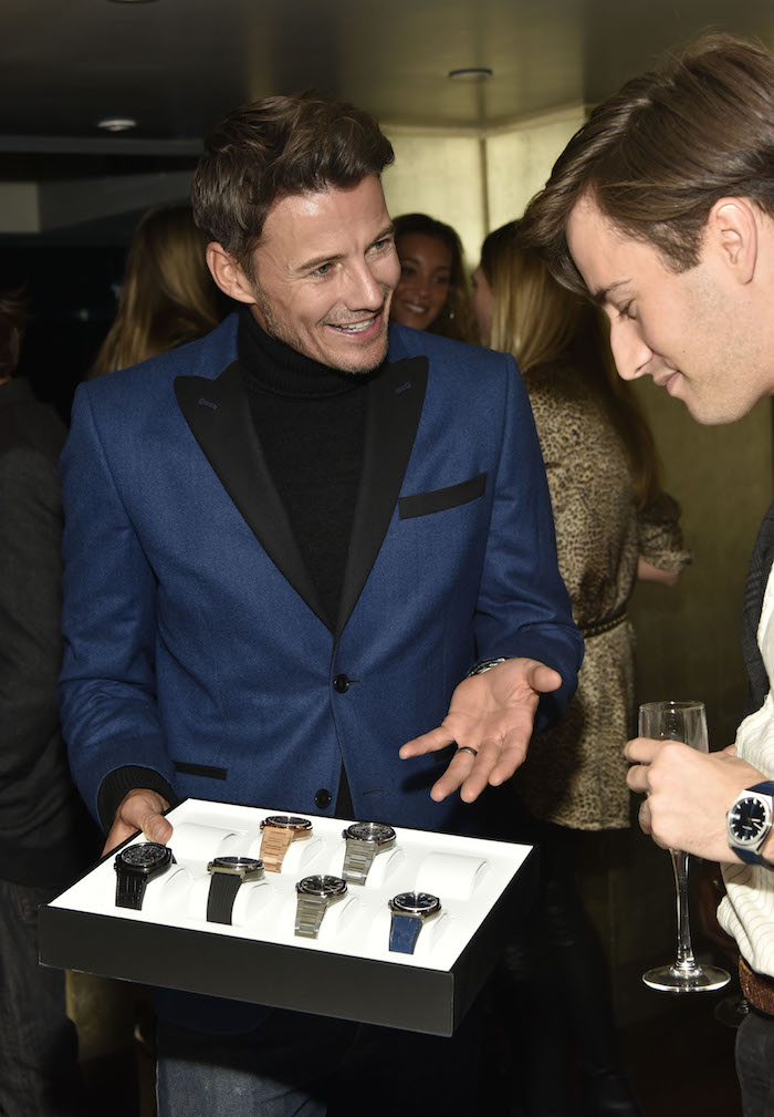 Alex Lundqvist attends the Haute Living And Zenith Honor Dolph Lundgren at Mr Chow in Tribeca on November 12, 2018 in New York City.