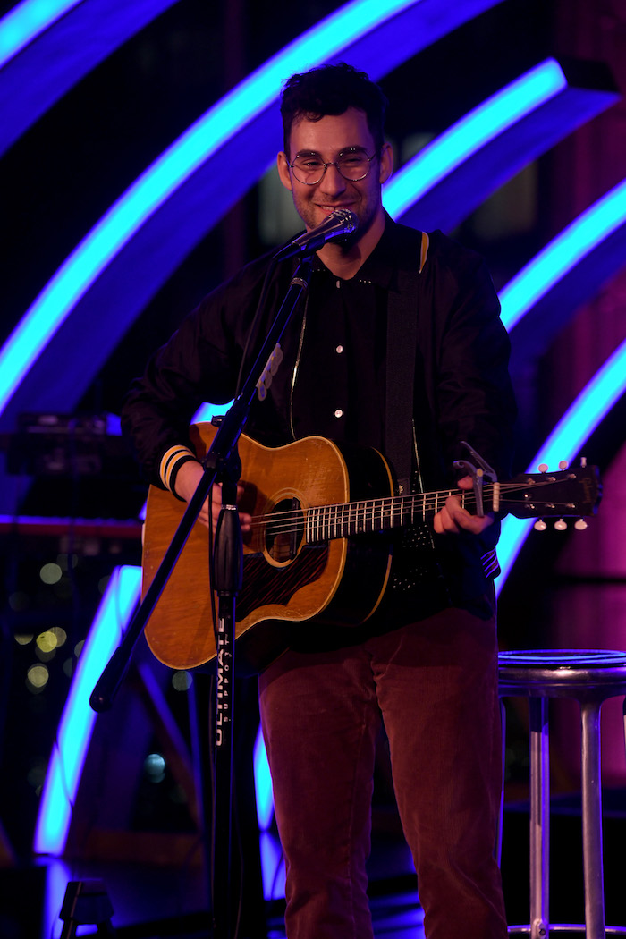 Jack Antonoff performs onstage during the MTV Staying Alive Foundation 20th Anniversary Gala at Guastavino's on November 27, 2018 in New York City.
