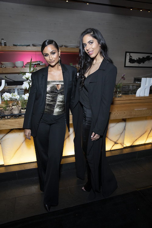 Nazanin Mandi and Deyvanshi Masrani