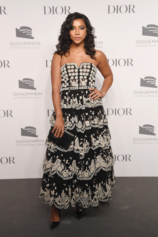 Hannah Bronfman attends the 2018 Guggenheim International Gala Pre-Party made possible by Dior at Solomon R. Guggenheim Museum on November 14, 2018 in New York City.
