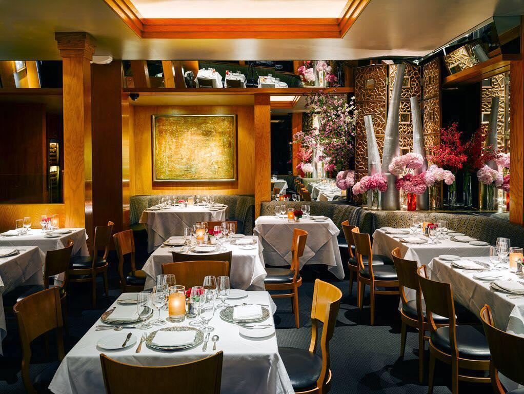 The dining room at Gary Danko
