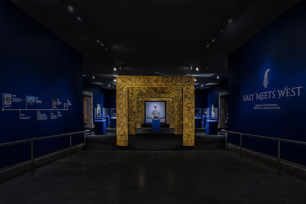 The entrance to the new exhibit