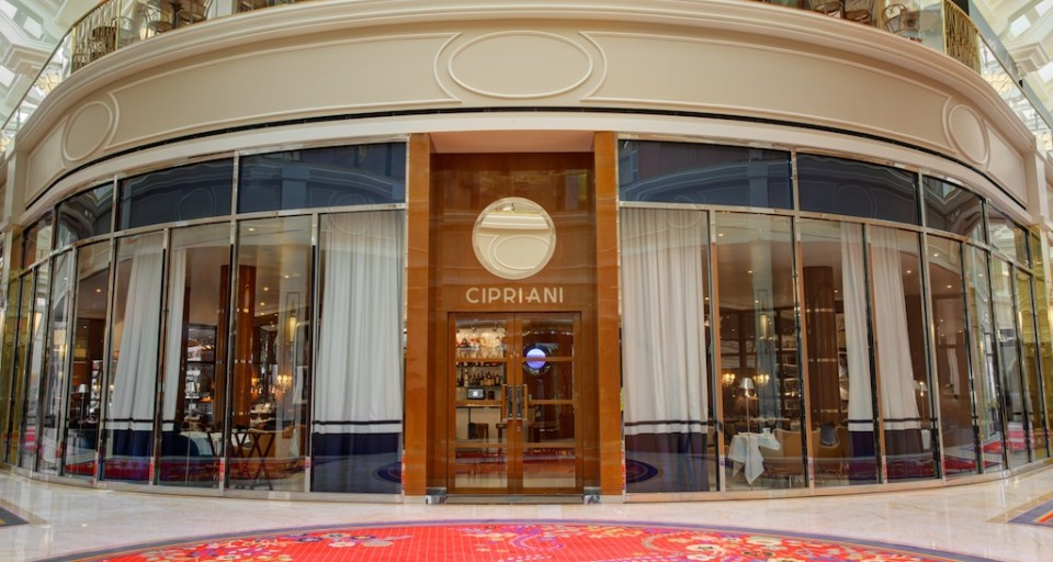 Cipriani Las Vegas Opens Its Doors In The Wynn Plaza Shops At Wynn Hotel