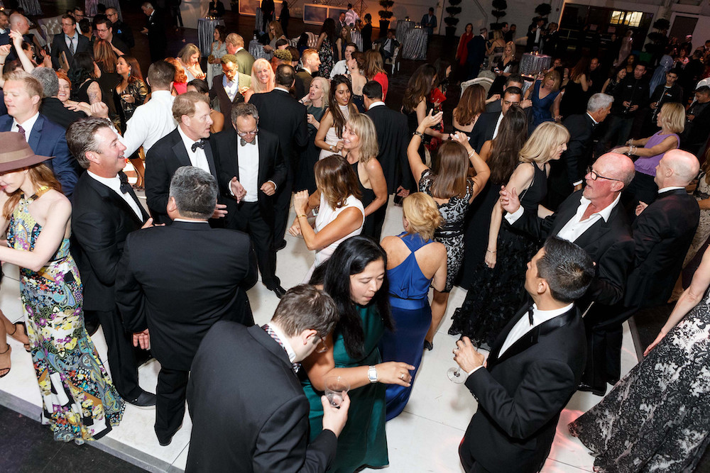 The dance floor at the 2018 Meals on Wheels gala in May