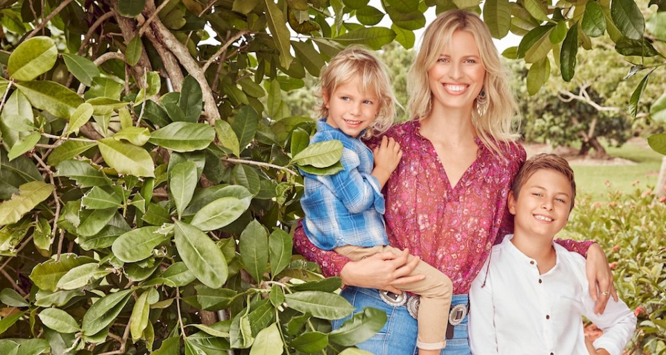 One-On-One With Supermodel Karolina Kurkova & Rachel Finger—Co-Founders Of Natural Kids' Wellness Line Gryph & IvyRose