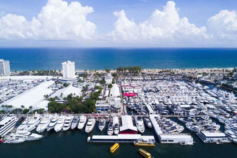 Aerial view of FLIBS