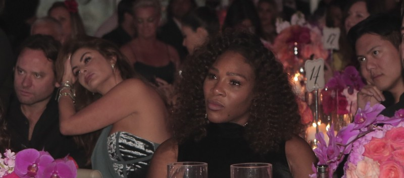 Serena Williams at Global Gift Gala