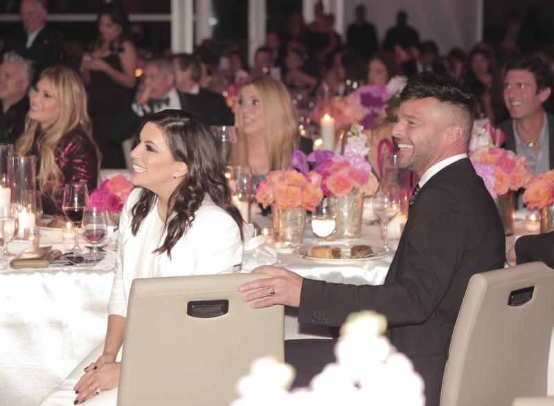 Eva Longoria and Ricky Martin
