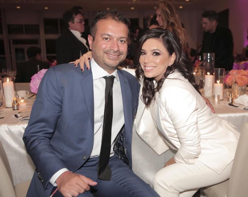 Kamal Hotchandani and Eva Longoria