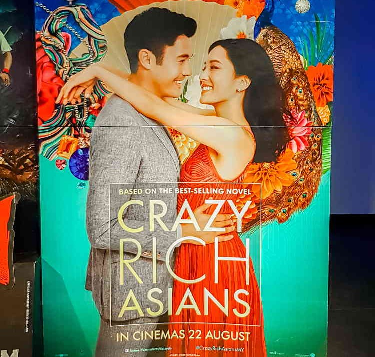 """Crazy Rich Asians"" movie poster"