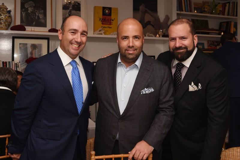 Filippo Ricci, Luis Garcia Fanjul, & Manny Machado