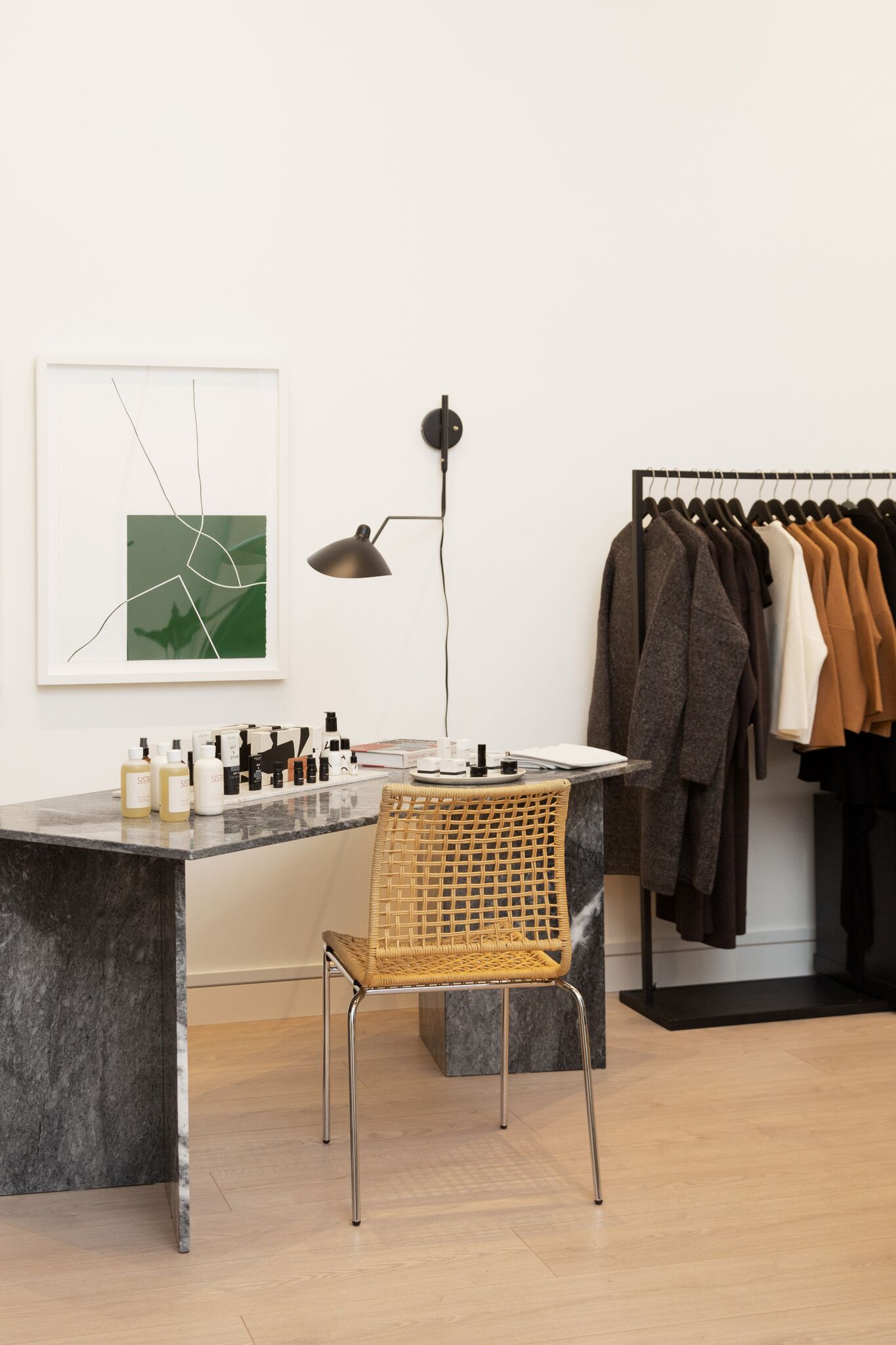 The store feels more like a home than a traditional retail space