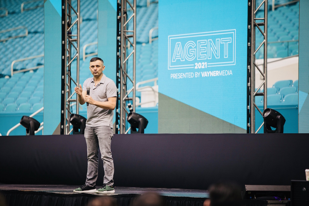 Gary Vaynerchuk, CEO of VaynerX, opening keynote for the inaugural Agent2021 in 2018
