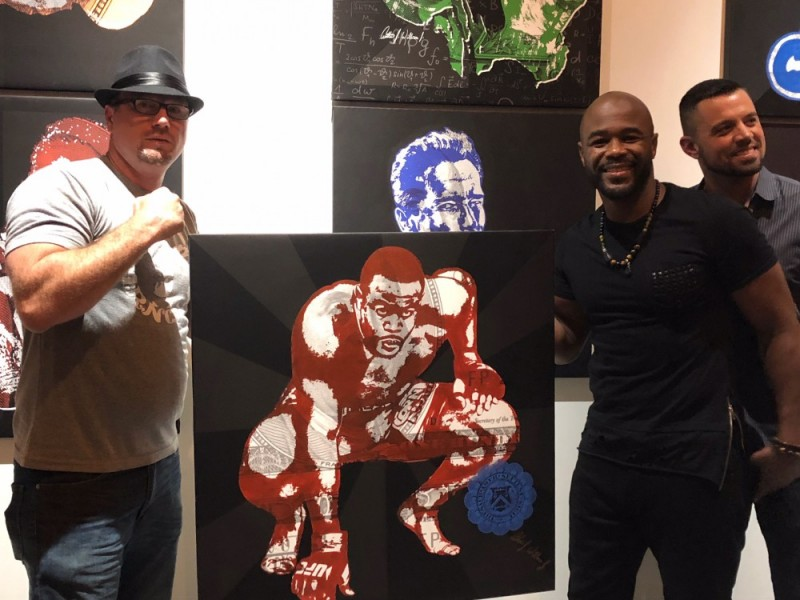 Arthur J. Williams and Rashad Evans
