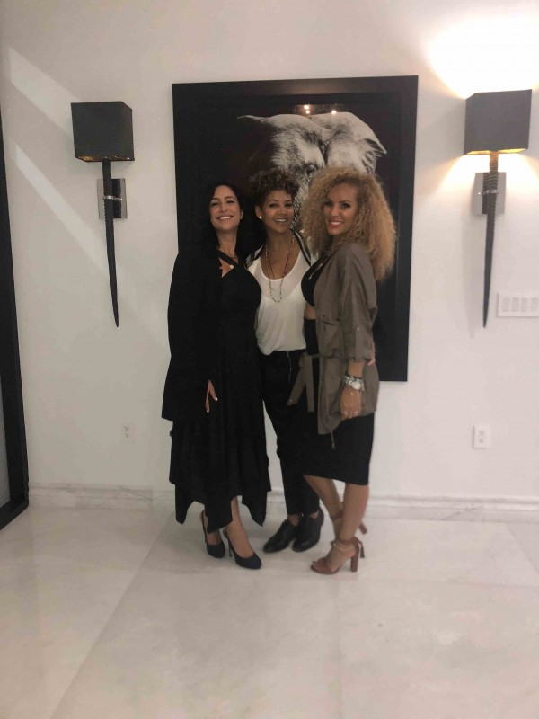 Violet Camacho, Tracy Wilson Mourning and Nikki Chu