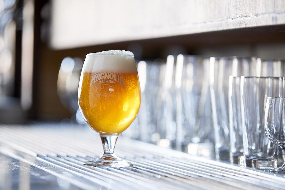 A beer at Magnolia
