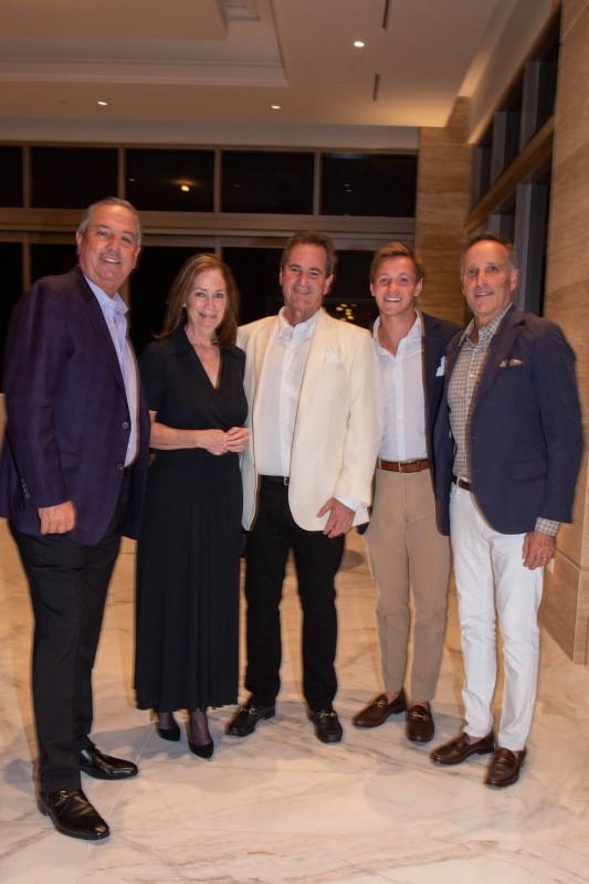 Michael Goldstein, Amy and Gary Feldman, Payton Smith and Richard Steinberg
