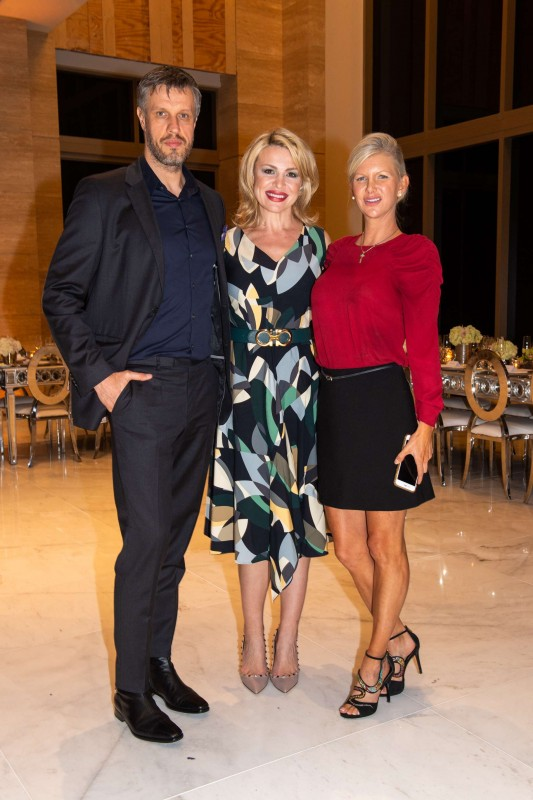 Marcus Schweitzer, Senada Adzem and April Donelson