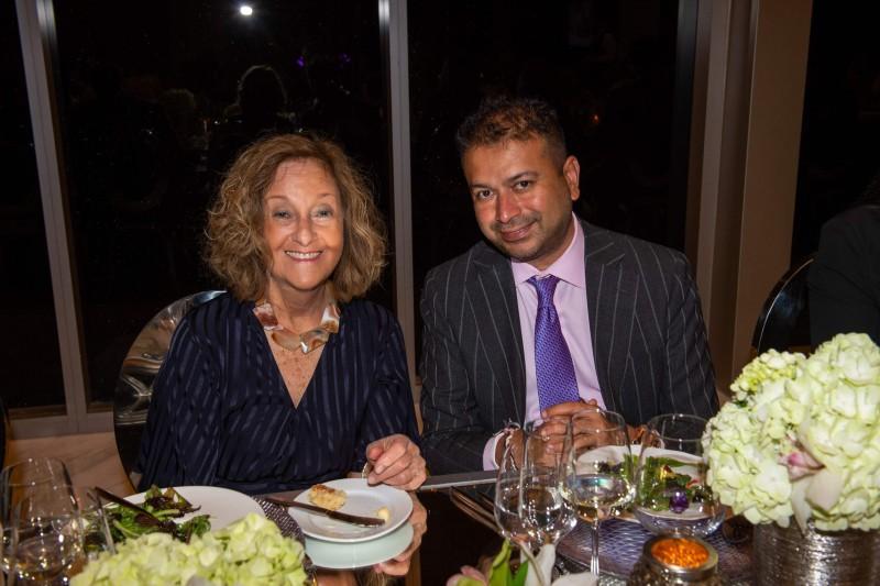 Stephanie Trump and Kamal Hotchandani